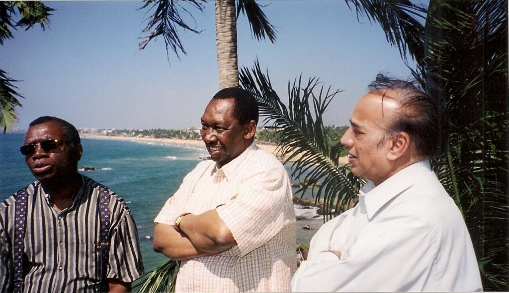 From left: Chief Justice Langa, Chief Justice Uwais and Chief Justice Jain